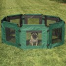 "ProSelect Soft-Sided Dog Pet Exercise Pen measures 16 square feet - eight 24"" x 24"" panels"