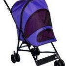 VIOLET Pet Gear Travel-Lite Dog Stroller dogs up to 20 lbs. Keeps pesky bugs out