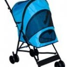 OCEAN BLUE Pet Gear Travel-Lite Dog Stroller dogs up to 20 lbs. Keeps pesky bugs out