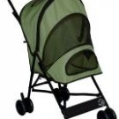 SAGE Pet Gear Travel-Lite Dog Stroller dogs up to 20 lbs. Keeps pesky bugs out