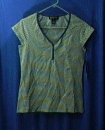 Jones New York women's clothing womens shirt medium top new with tags