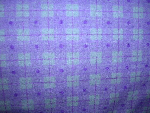Purple Plaid Shopping Cart Cover