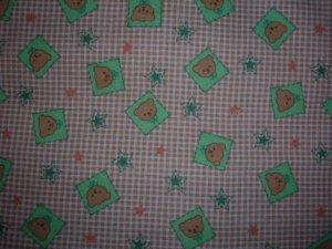 Teddy Bear Checkered Shopping Cart Cover