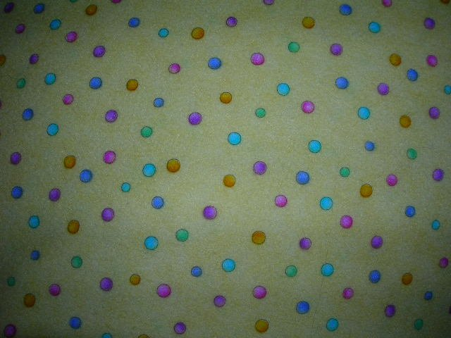 Yellow with Dots Shopping Cart Cover