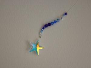 Sparkling Swarovski Star Crystal Window Hanging
