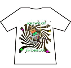 Krewe of Snorelax T-Shirt