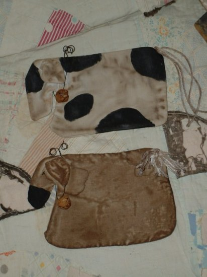 Primitive Cow Sheep Flatties Bowl Fillers Hanger E Pattern