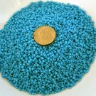Size 11 Matsuno seed beads opaque light blue 15 grams