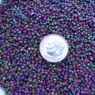 Size 11 iris beads Purple15 grams