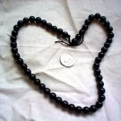 Round gemstone stone beads Sheen Obsidian 8mm 16 inch strand