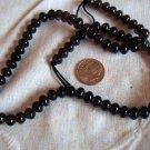 Gemstone stone beads Smoky quartz rondelle  7X4mm 16 inch strand