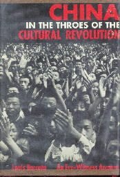 China In The Throes Of The Cultural Revolution-Louis Barcata-1968 HC/DJ