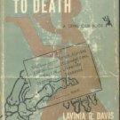 REFERENCE TO DEATH Lavinia Davis 1950 HC/DJ 1ST ED