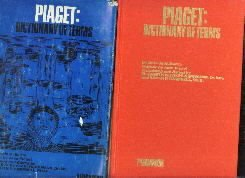 Piaget: Dictionary of Terms  by Battro, Antonio M.
