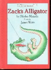 Zack's Alligator Goes to School (An I Can Read Book)  by Mozelle, Shirley...