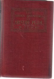 The Joyous Adventures Of Aristide Pujol [Paperback]  by Locke, William J.