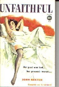 UNFAITHFUL-John Baxter-1955 Avon PB