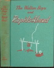 The Walton Boys And Rapids Ahead-Hal Burton-1950 Whitman Hardcover