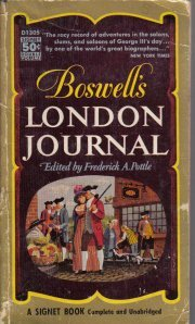 Boswell`s London Journal, 1762-1763 [Paperback]  by Pottle, Frederick A.