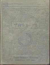 TWO DAYS-By W. Newport-Hammock Stories-1882