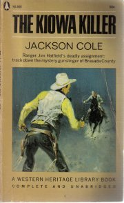 The Kiowa killer (Laura Ebaugh collection) [Unknown Binding]  by Cole, Jackson