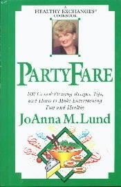 Party Fare: A Healthy Exchanges Cookbook [Hardcover]  by Lund, Joanna M.