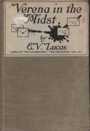 Verena in the Midst-E.V. Lucas-1920 Hardcover