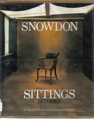 Sittings, 1979-1983  by Snowdon, Antony Armstrong-Jones