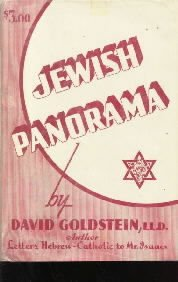 JEWISH PANORAMA-David Goldstein-HC/DJ