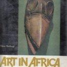 Art in Africa Tibor Bodrogi 1968 HC/DJ-color illustrations