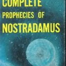 COMP PROPHECIES OF NOSTRADAMUS  by Roberts, Henry C.