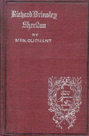 Sheridan (English Men of Letters) [Hardcover]  by Oliphant, Mrs.