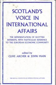 Scotland's voice in international affairs: The overseas representation of...