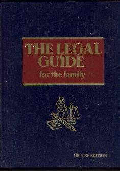 The Legal Guide for the Family--[Hardcover] Very, Donald L.