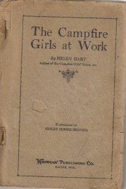 Campfire Girls At Work Helen Hart 1920 Whitman