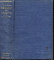 Lessons  On TUBERCULOSIS & CONSUMPTION Atkinson 1922 HC