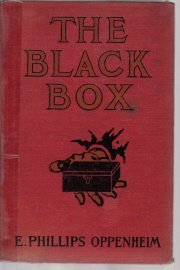 The BLACK BOX E. Phillips Oppenheim 1915 HC