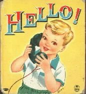 HELLO-1955 Whitman HC -Hanson-Illus by SARI