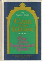 Czar of the water: The little humpbacked horse  by White, Anne Terry