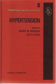 Hypertension (Contemporary Issues in Nephrology Series, Vol 8) [Hardcover]  by