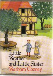 Little Brother and Little Sister  by Cooney, Barbara