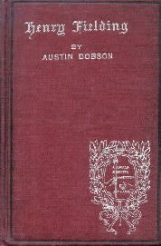 Henry Fielding hardcover by Dobson, Austin