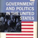 Government And Politics In The United States-Hathorn, Penniman & Zink-HC/DJ