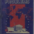 Today's Problems R.O. Hughes 1942 Illustrated Hardcover