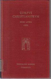 Corpvs Christianorvm Series Latina CXXII Beda opera
