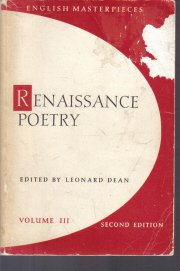 Renaissance Poetry Volume III 2nd Edition