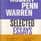 Robert Penn Warren Selected Essays