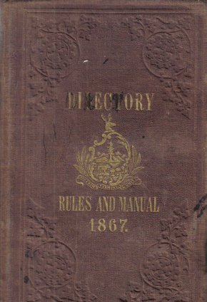 State Of Vermont Directory Rules And Manual 1867