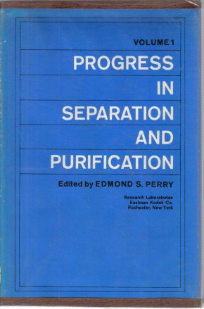 Progress In Separation and Purification Volume 1