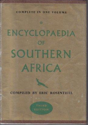 Encyclopaedia of Southern Africa Rosenthal 1965 HC DJ